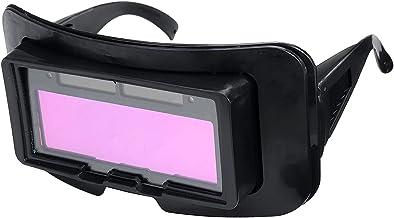 DYNWAVE Óculos de Segurança com Escurecimento Solar, Soldagem E Corte, Máscara de 2 Sensores