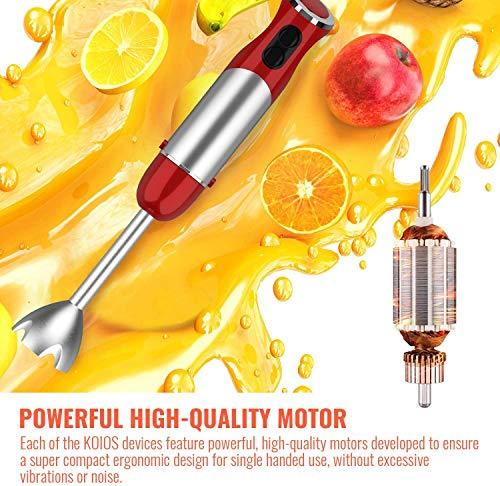 high quality motor of KOIOS 800W stick blender