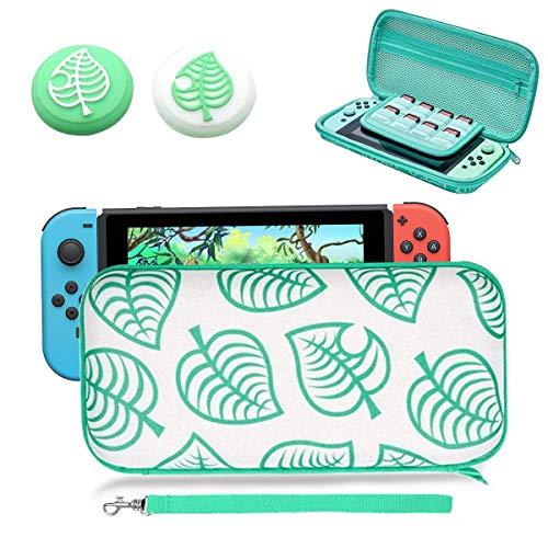 Elewelt Schutzhülle für Hartschalen-Transporttasche mit Handgriffbezug, für Nintendo Switch NS Lite Konsole