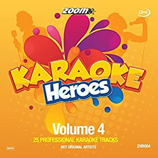 Zoom Karaoke Heroes CD+G - Volume 4 - Cliff Richard & Friends [Card Wallet] By Zoom Karaoke (2015-02-01)