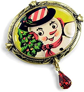 Vintage Holiday Christmas Halloween Valentine's Day Brooch Pins