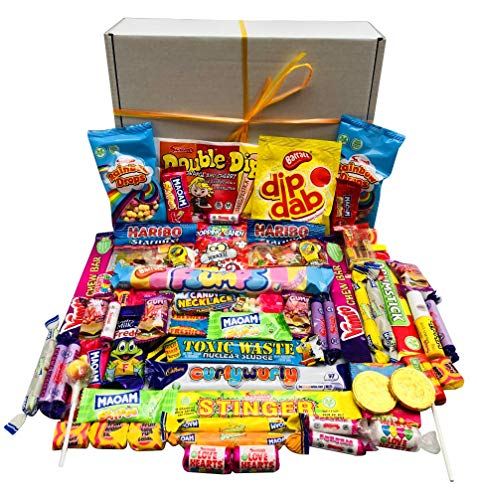 Retro Pick N Mix The Ultimate Sweets Selection Box Sweet Hamper Present - Gift Wrapped & Personalised Message