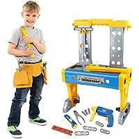 41-Pieces Gimsan Kids Workbench Toddler Tool Set