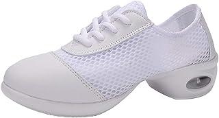 2b8cfdf3257 Zapatillas de Deporte de Baile de Jazz Transpirables de Malla para Mujer  Zapatillas Casuales, Huihong