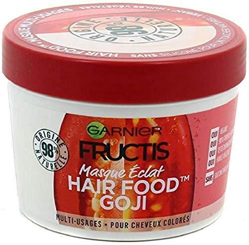Garnier Fructis Masque Éclat Multi-Usages Goji, Pour Cheveux Colorés, 390 ml