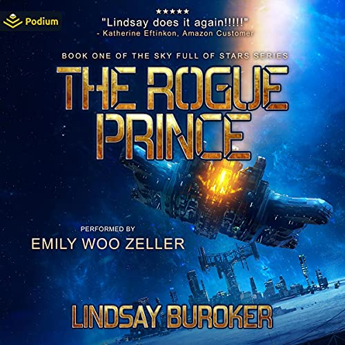 The Rogue Prince Audiobook By Lindsay Buroker cover art