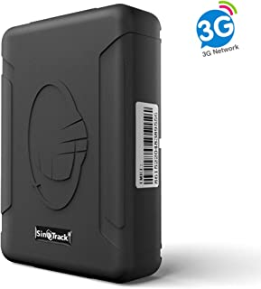 SinoTrack GPS Tracker ST-915W 3G Strong Magnet Tracking Device Locator for Vehicles, Waterproof Real-Time Car GPS Tracker with Free Software, for Car Motorcycle, Taxi, Bus, etc