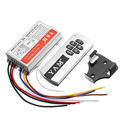 YM-084 Télécommande numérique sans fil 4 canaux pour lampes LED Smart Home