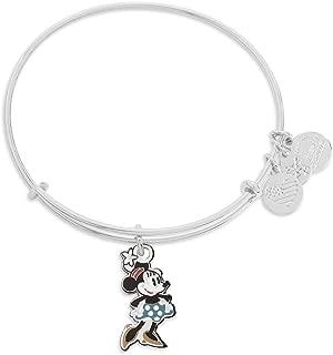 Disney Minnie Mouse Bangle Bracelet Silver