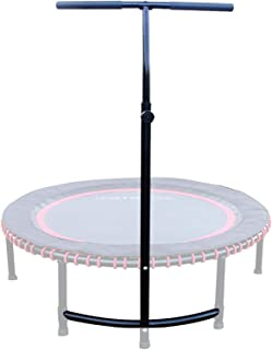 LEAPS & REBOUNDS: Adjustable Stabilizer Bar - Fits All L&R Fitness Trampolines - Grippable & Cushy Foam Handles - Easy Ass...