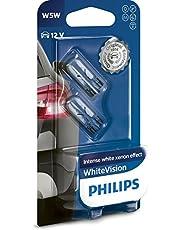 Philips 12961NBVB2 Żarówka Samochodowa W5W, 12V, 5W, 2 Sztuki
