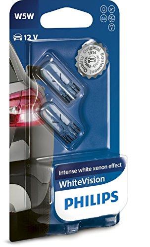 Philips WhiteVision Xenon-Effekt W5W Scheinwerferlampe 12961NBVB2, Doppelblister