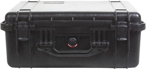 Peli 1550 noir, avec utilisation de mousse 111500