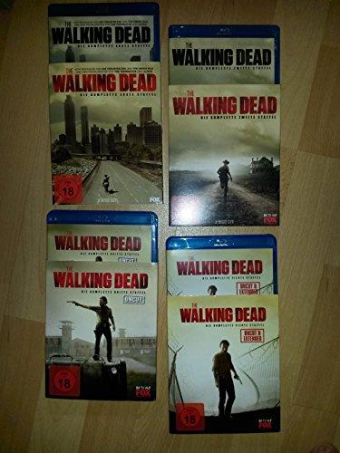 The Walking Dead - Staffel 1-4 (Extended/Uncut) [Blu-ray]
