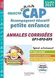 Annales Examen 2021 CAP Accompagnant Éducatif Petite Enfance
