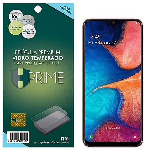 Pelicula de Vidro Temperado 9H para Samsung Galaxy A20, HPrime, Película Protetora de Tela para Celular, Transparente