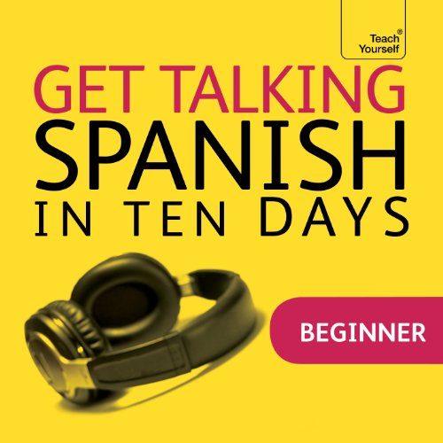 Get Talking Spanish in Ten Days audiobook cover art