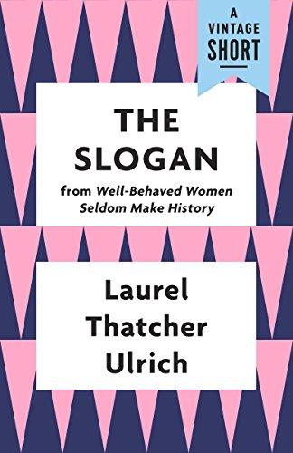 The Slogan (A Vintage Short) (English Edition)