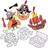 Atrapasol de Pirata Baker Ross AT667