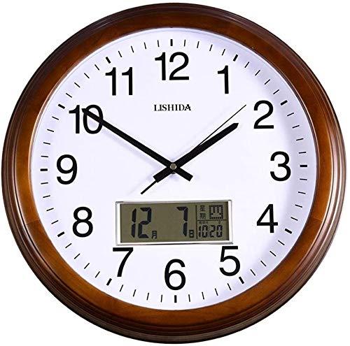 QYYzdy Reloj de Pared Calendario perpetuo Excelente Barrido