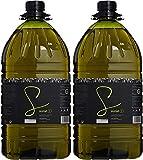 Surat. Aceite de Oliva Virgen Extra con Arbequina y Cornezuelo - Pack de 2 x 5 litros
