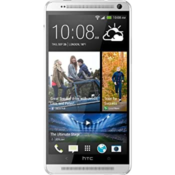HTC One Max 32GB 4G LTE Unlocked GSM Android Smartphone - Silver