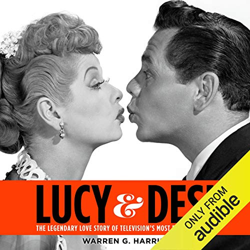 Lucy and Desi audiobook cover art