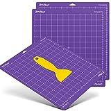 HTVRONT Alfombrilla de corte fuerte para Cricut, paquete de 3 unidades, 12 x 12 cm, para Cricut Explore Air 2/Air/One/Maker, corte adhesivo fuerte, accesorios de repuesto para Cricut