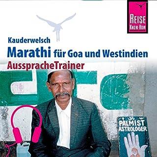 Marathi (Reise Know-How Kauderwelsch AusspracheTrainer) Titelbild