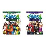 Electronic Arts Los SIMS 4 y las cuatro estaciones (La caja contiene un código de descarga Origin) + Los Sims 4 ¿Quedamos?