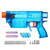 WORKER Prophecy Type-R Full-Body Cover Shell DIY Kits for Nerf Retaliator (Blue Transparent)