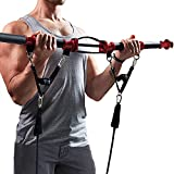 TENSION TONER - Develop Total Body Strength and Lean Muscle - Exercise Your Important Stabilizer and Pulling Muscles - Patented Home Gym System - Best Traveling Gym