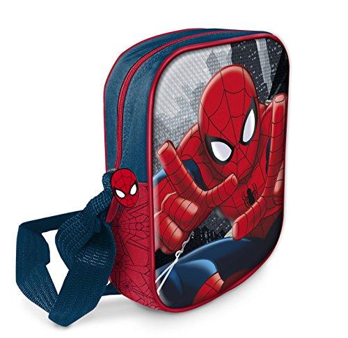 Star Licensing Marvel Spiderman Sac à bandoulière 3D...