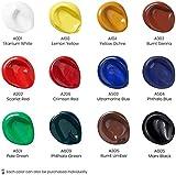Arteza Acrylfarben, Set mit 12 Tuben, 22 ml Malfarbe pro Tube, hochwertige Acryl-Künstlerfarbe, zum Malen auf Leinwänden - 2