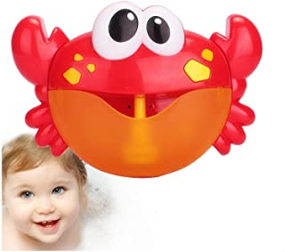 Bath Bubble Maker,Bubble Crabs Baby Bath Toy Funny Bath Bubble Maker Pool Swimming Bathtub Soap Machine Toys for Children ...