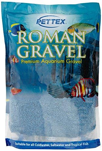 ettex grind voor aquarium, voor aquariumlandschappen in Romeinse stijl, 2 kg, middenzeeblauw