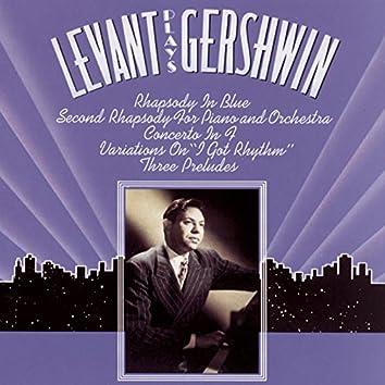 Levant Plays Gershwin
