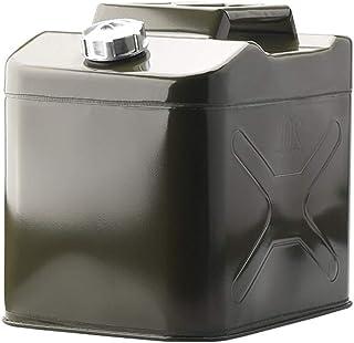 YIN YIN Tanque de combustible portatil Portátil de la motocicleta del coche de repuesto del depósito de combustible Gasoli...