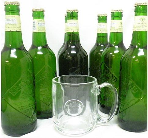 キリン ハートランド&ミニジョッキセット (中瓶×7本、ミニジョッキグラス×1個)