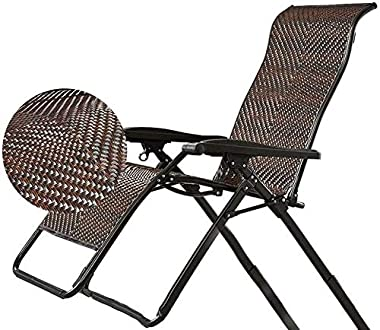 ADHW Recliner,Recliner Chairs Outside,Outdoor Garden Rocking Chair Relaxing Chair,Cushion Covers Recliner,Sun Lounger,Lounge Chair