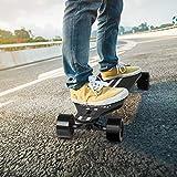 Kbale H5 Longboard Électrique - Skateboard Électrique Adulte Ultra Fin avec Télécommande sans Fils, Moteurs Doubles 760W, Vitesse Maximale 35km/h Autonomie 15km-18km - SAV