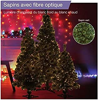 Moderne Amazon.fr : Sapin Fibre Optique 180 Cm GF-77
