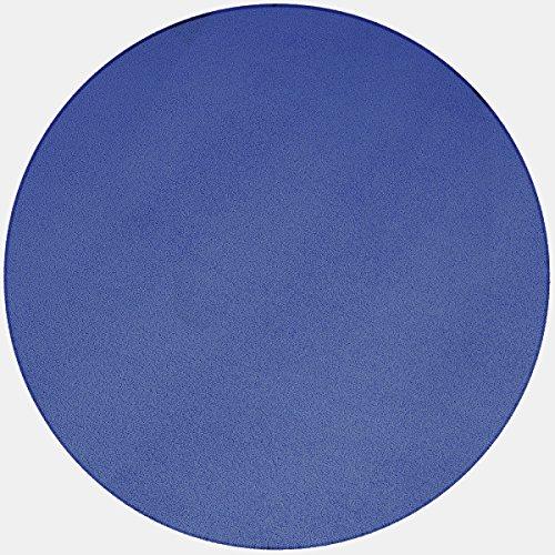 havatex Teppich Velours Trend rund - große Farbauswahl | robust strapazierfähig | Wohnzimmer...