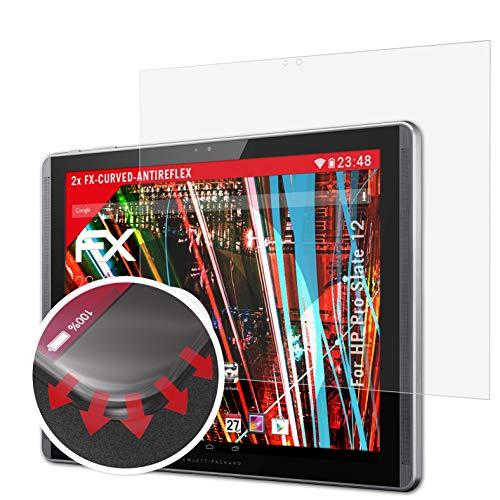 atFolix Schutzfolie kompatibel mit HP Pro Slate 12 Folie, entspiegelnde & Flexible FX Bildschirmschutzfolie (2X)