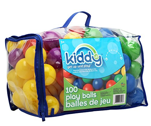 Kiddy Up Crush Resistant Pit Balls Playset (100Count) Phthalate & Bpa Free (23058)