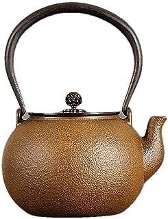 Bouilloire en fer de style japonais fait à la main Bouilloire en fonte non revêtue-E.