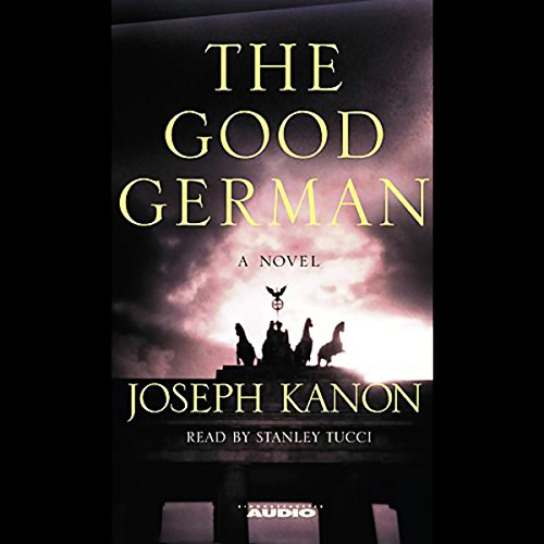 The Good German audiobook cover art