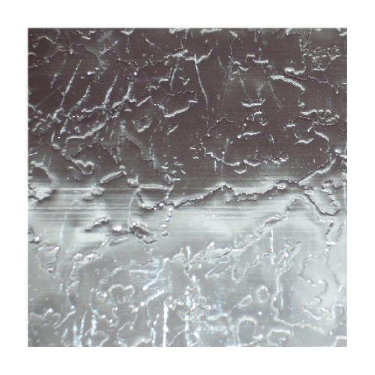 Efco Wax Sheet 200 x 100 x 0,5 mm 1 pc. Silver Metallic Waves