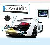 YMPA Einparkhilfe Funk Kabellos mit Monitor Rückfahrsystem universal integriert Nummernschild...