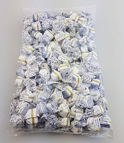 1 kg Tartufino dolce cremino | 140 Stück je 7 g | Antica Torroneria Piemontese | Trüffel Praline aus Italien | Trüffel mit Nougat und weißer Schokolade | Piemont Haselnüsse | Großpackung | Glutenfrei